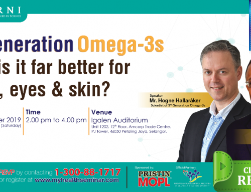 3rd Gen. Omega-3s. Why its Better for Brain, Eyes  & Skin